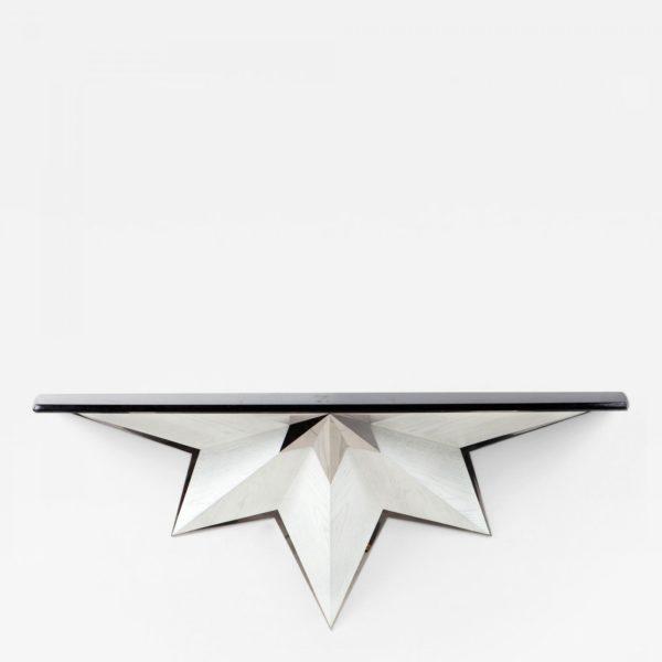 Console suspendue contemporaine signée Antoine Vignault, artiste designer à Toulouse